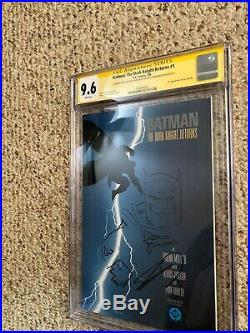 Batman The Dark Knight Returns # 1 CGC 9.6 Ss Frank Miller Klaus Janson