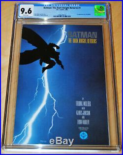 Batman The Dark Knight Returns #1 CGC 9.6 (WHITE PAGES) 1st App. Of Carrie Kelly