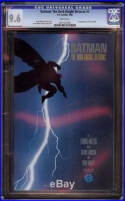 Batman The Dark Knight Returns # 1 CGC 9.6 White (DC, 1986) Classic Frank Miller