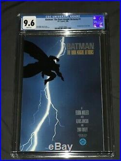 Batman The Dark Knight Returns #1 CGC 9.6 White, Frank Miller-1st Print, DC 198