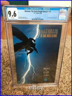 Batman The Dark Knight Returns 1 CGC 9.6 White Pages (Frank Miller) 1986