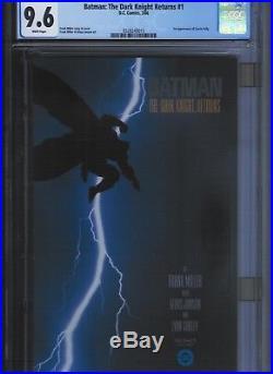 Batman The Dark Knight Returns # 1 CGC 9.6 White Pages. UnRestored