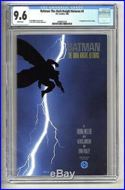 Batman The Dark Knight Returns #1 (CGC 9.6) White p 1st Carrie Kelly (c#26009)