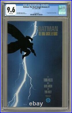 Batman The Dark Knight Returns #1 (CGC 9.6) White p 1st Carrie Kelly (j#3081)