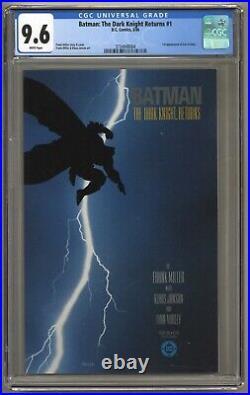 Batman The Dark Knight Returns #1 (CGC 9.6) White p 1st Carrie Kelly (j#5969)