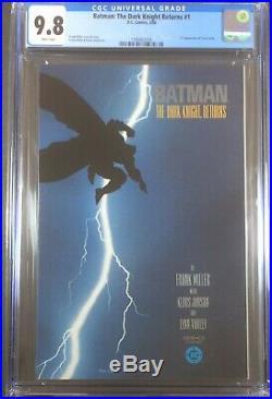 Batman The Dark Knight Returns #1 CGC 9.8, 1st Print, White Pg 1st Carrie Kelly