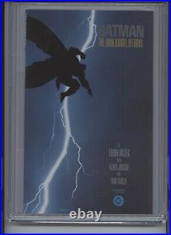 Batman The Dark Knight Returns #1 CGC 9.8 1st app of Carrie Kelly