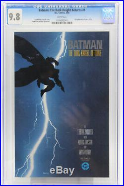 Batman The Dark Knight Returns # 1 CGC 9.8 1st appearance of Carrie Kelly DC