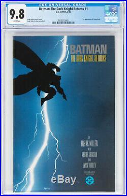 Batman The Dark Knight Returns #1 CGC 9.8 DC 1986 Frank Miller! K10 191 cm SALE