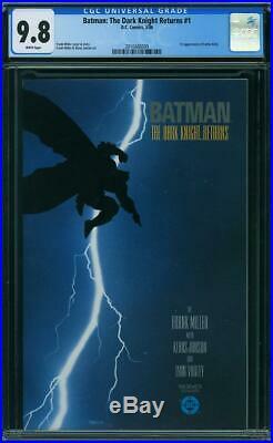 Batman The Dark Knight Returns #1 CGC 9.8 DC 1986 Frank Miller! WP! K6 209 cm