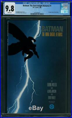 Batman The Dark Knight Returns #1 CGC 9.8 DC 1986 Frank Miller! WP! L3 213 cm