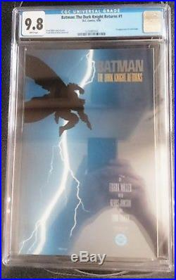 Batman The Dark Knight Returns # 1 CGC 9.8 DC Comics March 1986 Look
