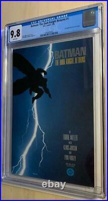 Batman The Dark Knight Returns 1, CGC 9.8 First Print/White Pages, FREE SHIP