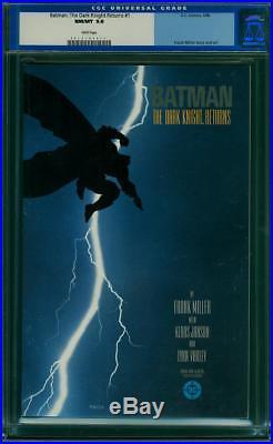Batman The Dark Knight Returns #1 CGC 9.8 Frank Miller JLA White! H12 112 cm cr