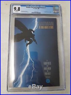 Batman The Dark Knight Returns #1, CGC, 9.8/NM to Mint, 1st App Carrie Kelly
