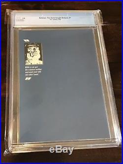Batman The Dark Knight Returns # 1 CGC 9.8 New Case Frank Miller 1986 1st Print