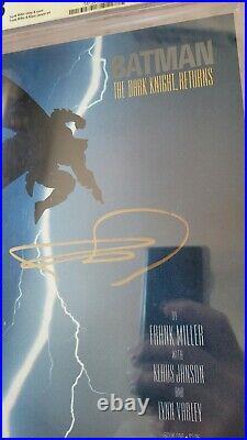 Batman The Dark Knight Returns 1 CGC 9.8 SS FRANK MILLER 1st Carrie Kelly Robin