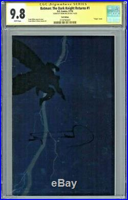 Batman The Dark Knight Returns #1 CGC 9.8 SS Foil Edition Sig Frank Miller NYCC