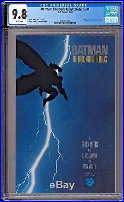Batman The Dark Knight Returns #1 CGC 9.8 White Frank Miller 1st Print