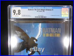 Batman The Dark Knight Returns #1 CGC 9.8 White Pages 1st Carrie Kelly