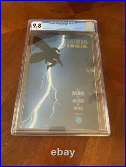 Batman The Dark Knight Returns #1 CGC 9.8 White Pages First Printing DC