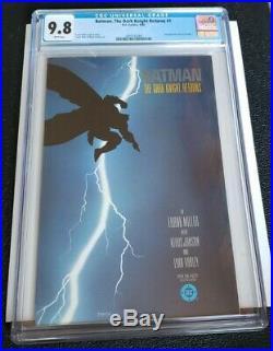 Batman The Dark Knight Returns #1 CGC 9.8 white pages 1st Print