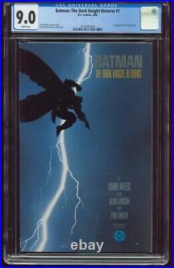 Batman The Dark Knight Returns #1 CGC-GRADED 9.0 NM WP DC 1ST PRINT ID G-364
