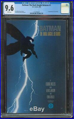 Batman The Dark Knight Returns 1 CGC-GRADED 9.6 NM+ WHITE PAGES DC 647 IST PRINT