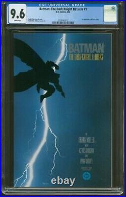 Batman The Dark Knight Returns 1 CGC-GRADED 9.6 NM+ WP DC 1ST PRINT ITEM G-119
