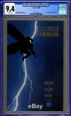 Batman The Dark Knight Returns 1 CGC Graded 9.4 Frank Miller 1st Printing 1986