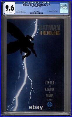 Batman The Dark Knight Returns 1 CGC Graded 9.6 NM+ DC Comics 1986