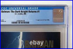 Batman The Dark Knight Returns #1 CGC NM/M 9.8 1st Printing White Pages