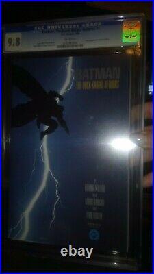 Batman The Dark Knight Returns #1 CGC Rated 9.8