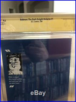 Batman The Dark Knight Returns #1 CGC SS (First Print) Frank Miller