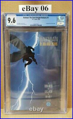 Batman The Dark Knight Returns #1 Cgc 9.6 Cert 1264235001 Frank Miller (g9)
