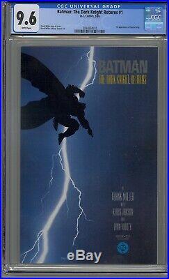 Batman The Dark Knight Returns #1 Cgc 9.6 Frank Miller