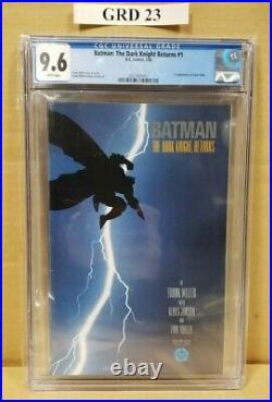 Batman The Dark Knight Returns #1 Cgc 9.6, Frank Miller Story & Art (dc Comics)