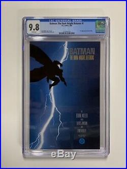 Batman The Dark Knight Returns 1 Cgc 9.8 White Pages Dc Comics 1st First Print