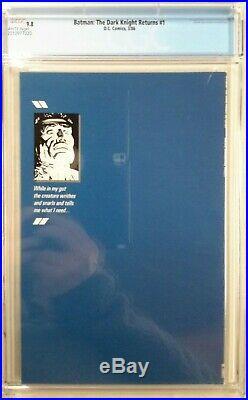 Batman The Dark Knight Returns #1 Cgc 9.8(mar 1986, Dc)1st Printmiller