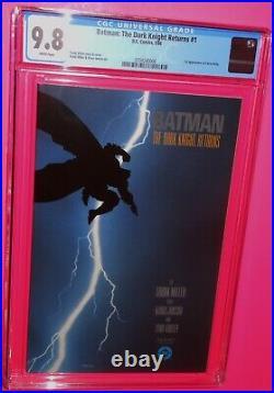Batman The Dark Knight Returns #1 DC 1986 1st Print Cgc 9.8 White Pgs Iconic