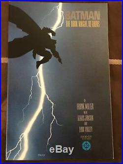 Batman The Dark Knight Returns # 1 DC 1986 Frank Millers Epic Batman Story