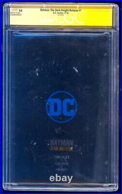 Batman The Dark Knight Returns #1 Foil SS CGC 9.8 Miller & Janson Sketches 2018