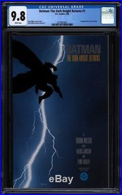 Batman The Dark Knight Returns #1 Frank Miller CGC 9.8 White 2015953001