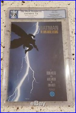 Batman The Dark Knight Returns 1 Pgx 9.8 1986 Carrie First Print White Pages Cgc