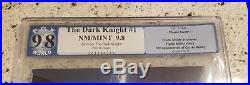 Batman The Dark Knight Returns 1 Pgx 9.8 1986 Carrie First Print White Pages Cgc