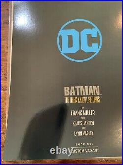 Batman The Dark Knight Returns 1 Virgin Foil Variant SIGNED By Frank Miller NM