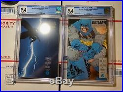 Batman The Dark Knight Returns #1 and #2 CGC 9.4 (DC Comics 1986) First prints