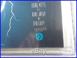 Batman The Dark Knight Returns 1st Print CGC 9.6 WP Frank Miller