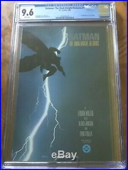 Batman The Dark Knight Returns 1st Print#nn (Oct 1986, DC) CGC 9.6