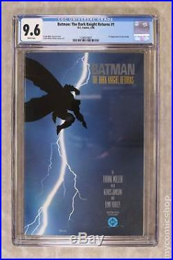 Batman The Dark Knight Returns (1st Printing) #1 1986 CGC 9.6 1248419007